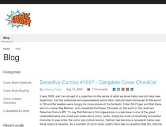 comicburst.com screenshot