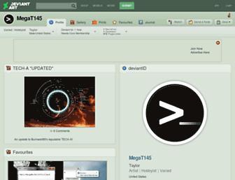 megat145.deviantart.com screenshot