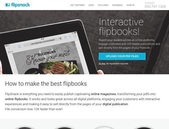 Thumbshot of Flipsnack.com