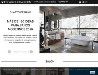 espaciohogar.com screenshot