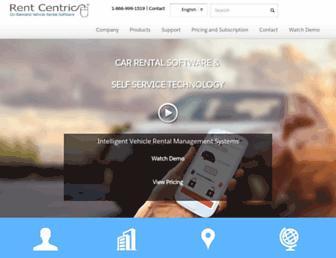 rentcentric.com screenshot