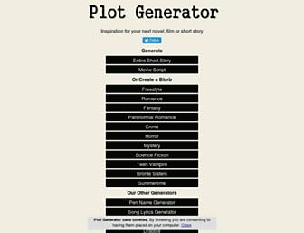 plot-generator.org.uk screenshot
