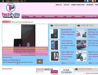 Thumbshot of Techpuffs.com