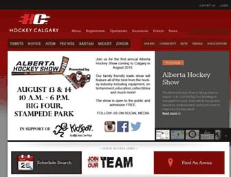 hockeycalgary.ca screenshot