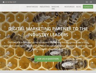 demodia.com screenshot