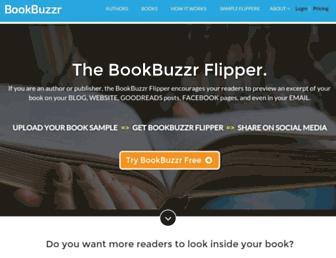 Thumbshot of Bookbuzzr.com
