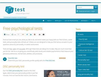 123test.com screenshot