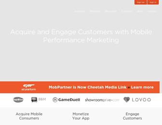 Thumbshot of Mobpartner.com