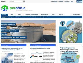 euro-petrole.com screenshot