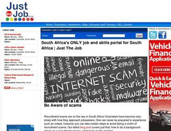 Thumbshot of Justthejob.co.za