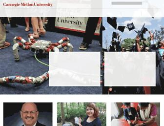 Main page screenshot of cmu.edu