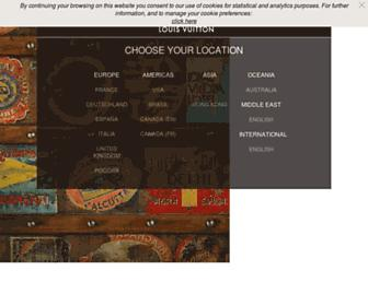Thumbshot of Louisvuitton.com