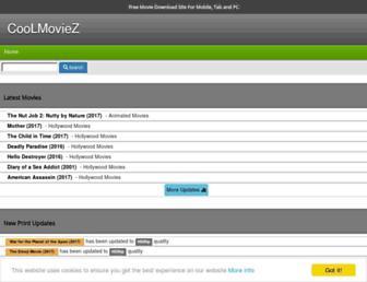 mycoolmoviez.info screenshot
