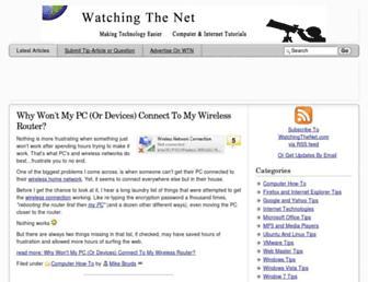 watchingthenet.com screenshot