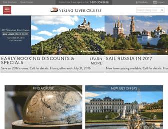 Thumbshot of Vikingrivercruises.com