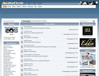 Thumbshot of Audiocircle.com