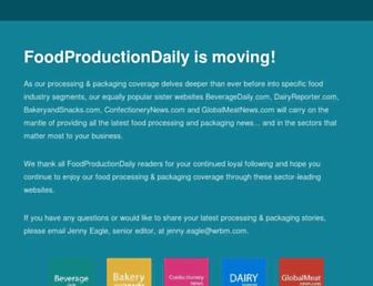 Thumbshot of Foodproductiondaily.com
