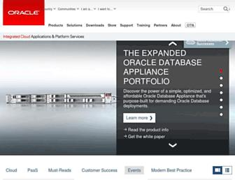 Thumbshot of Oracle.com