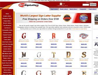 buysignletters.com screenshot
