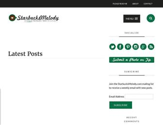 Thumbshot of Starbucksmelody.com