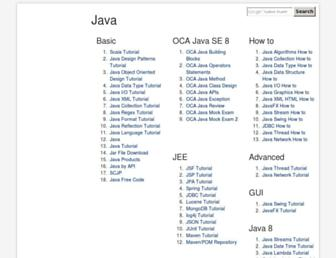 java2s.com screenshot