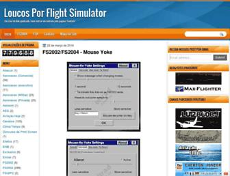 loucosporflightsimulator.blogspot.com screenshot