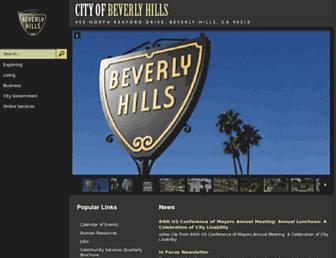Thumbshot of Beverlyhills.org