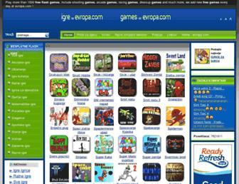 igre.evropa.com screenshot