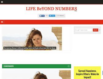 lifebeyondnumbers.com screenshot