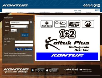 Screenshot for kontur.com.tr