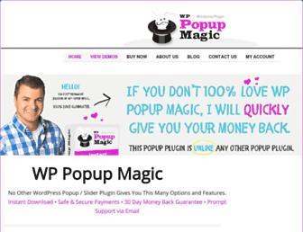 wppopupmagic.com screenshot