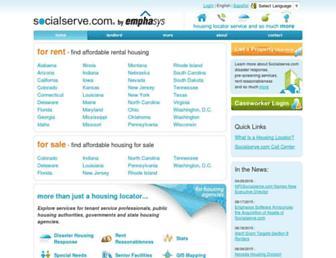 socialserve.com screenshot