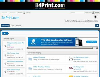 b4print.com screenshot