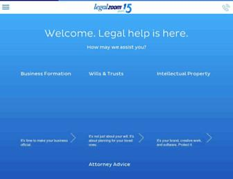 Thumbshot of Legalzoom.com
