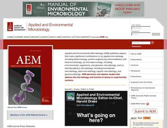 aem.asm.org screenshot