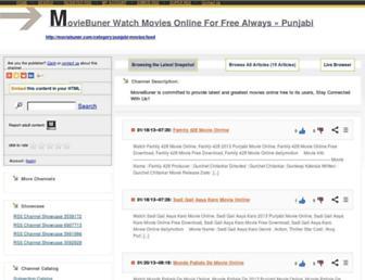 moviebuner8.rssing.com screenshot
