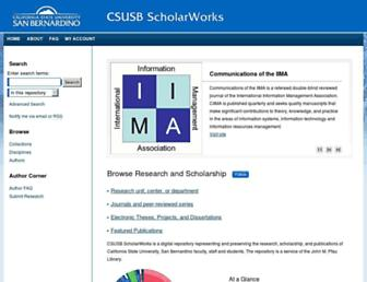 scholarworks.lib.csusb.edu screenshot