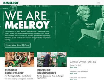 mcelroy.com screenshot