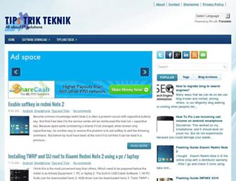 tipstrikteknik.blogspot.com screenshot