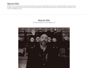 Thumbshot of Warrenellis.com