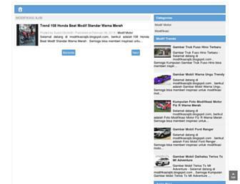 modifikasiajib.blogspot.com screenshot