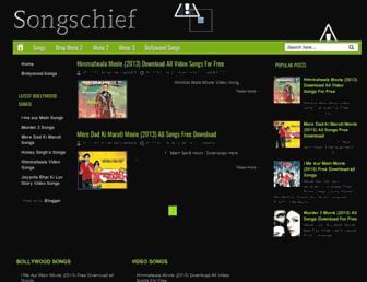 songzchief.blogspot.com screenshot