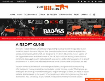 Thumbshot of Justbbguns.co.uk