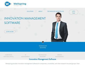 wellspring.com screenshot
