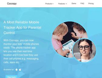 cocospy.com screenshot