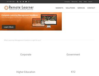 Thumbshot of Remote-learner.net