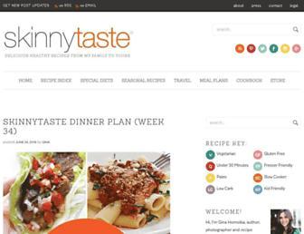 skinnytaste.com screenshot