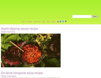 Thumbshot of Maangchi.com