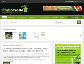 parbotrade.com screenshot