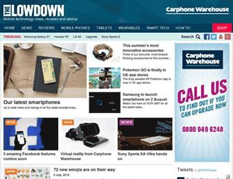 lowdown.carphonewarehouse.com screenshot